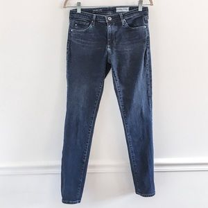 AG Anthropologie Abbey Midrise Skinny Jeans